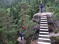 Klettersteig Jonsdorf : Adventureservice saupsdorf klettersteig klettern im